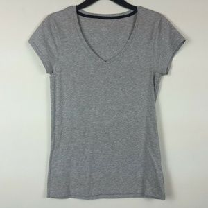 Energie L/XL Grey Pull Over Top 3AG51